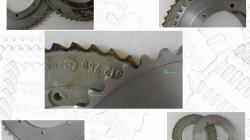 Koło łańcuchowe rekonstrukcja zębów 49 otwór 50H7