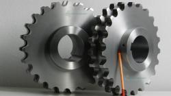 Producent kół do łańcucha 28a-2 piasta symetryczna, rowek 28P9
