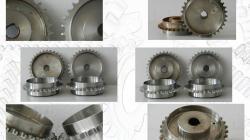 Rekonstrukcja koło łańcuchowe 12B-1 rowek producent